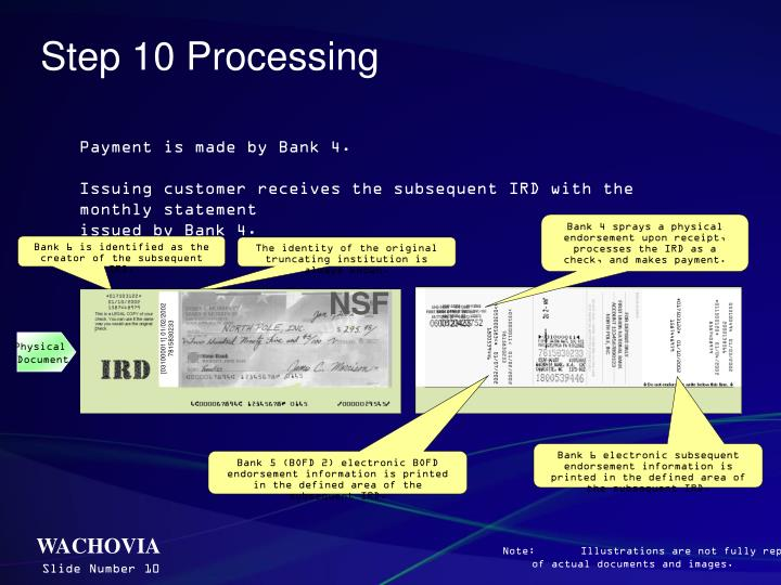 Step 10 Processing