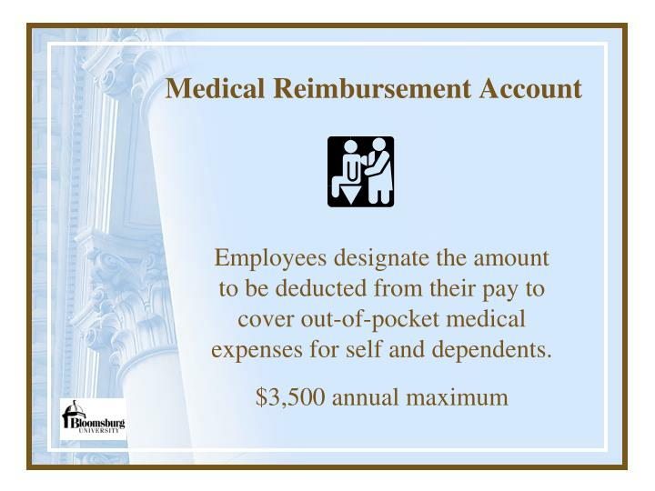 Medical Reimbursement Account