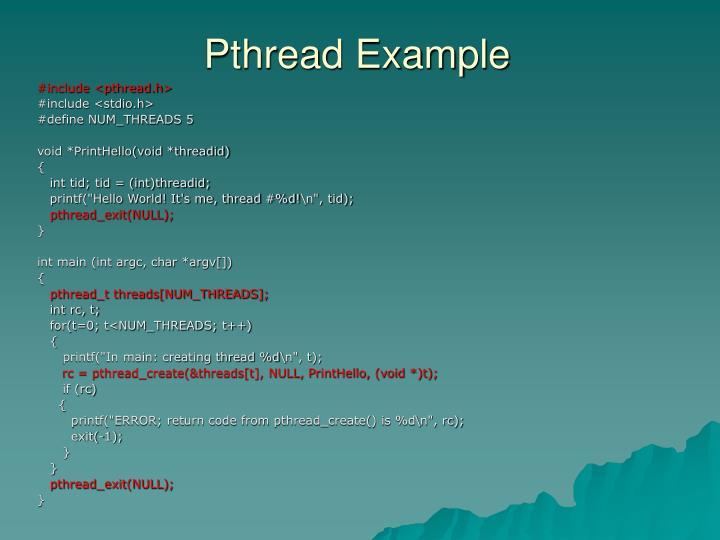 #include <pthread.h>