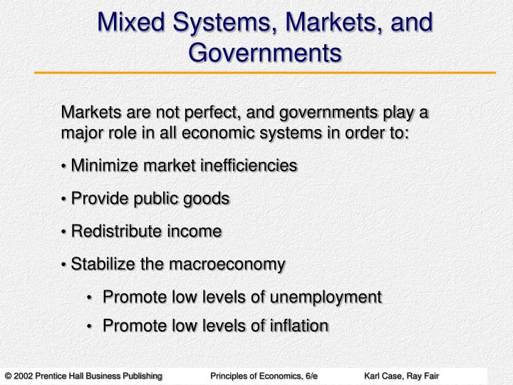 Mixed Systems, Markets, and Governments