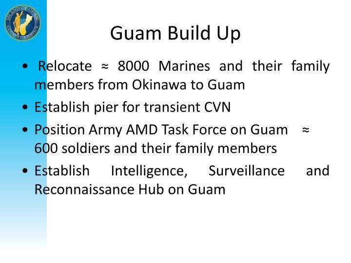 Guam Build Up