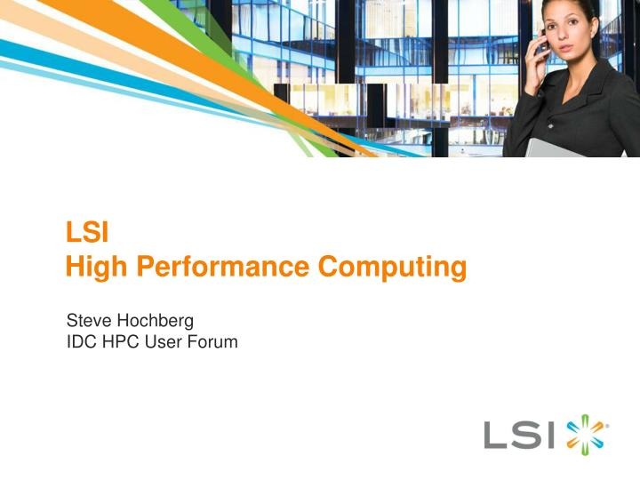 lsi high performance computing n.