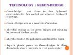 technology green bridge