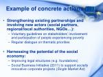 example of concrete actions 2