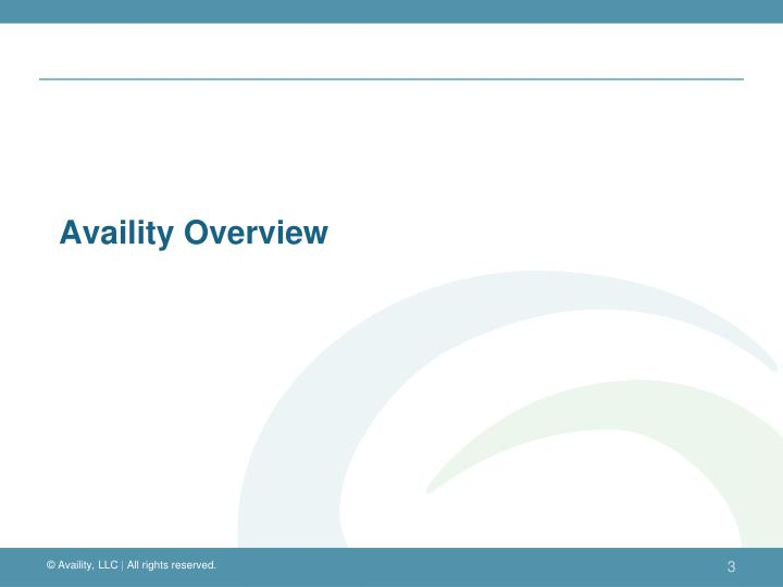 Availity overview