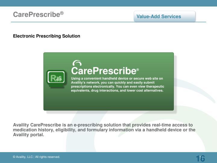 CarePrescribe