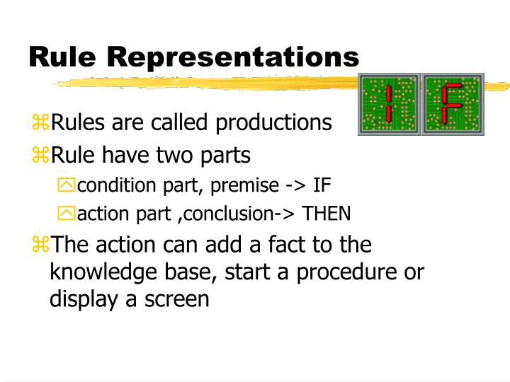 Rule Representations