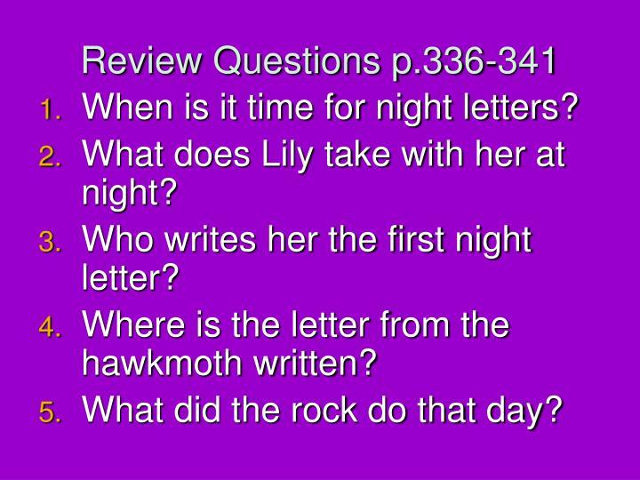 Review Questions p.336-341
