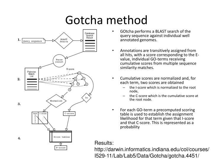 Gotcha method