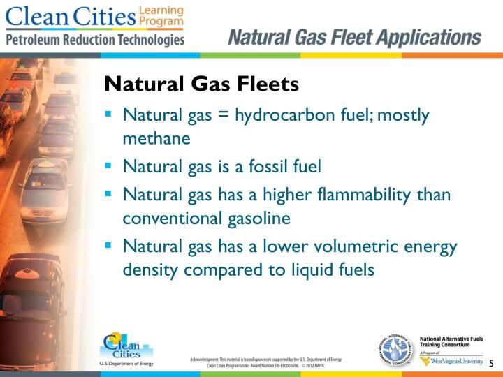 Natural Gas Fleets