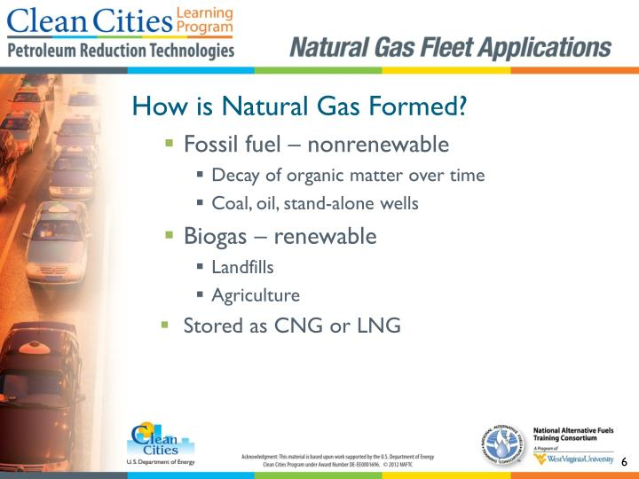 How is Natural Gas Formed?