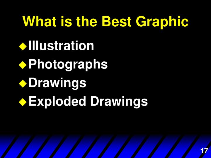 What is the Best Graphic