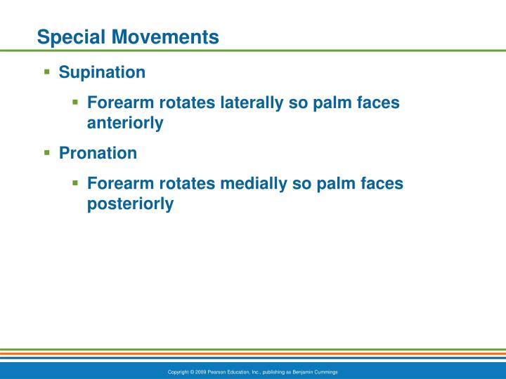 Special Movements