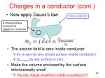 charges in a conductor cont1