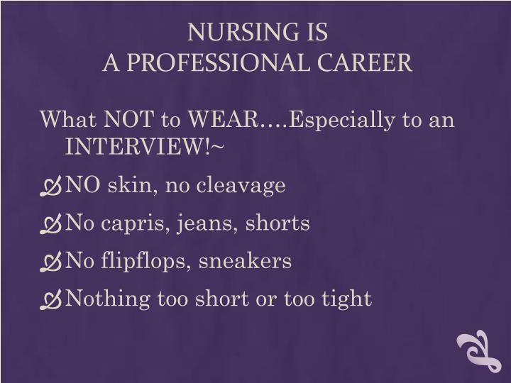 Nursing IS