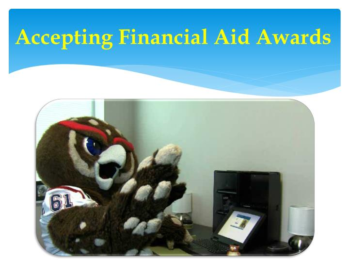 Accepting Financial Aid Awards