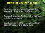 battle of leuthen cont1