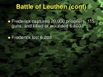 battle of leuthen cont2