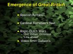 emergence of great britain