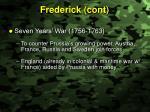 frederick cont