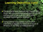 learning objectives cont1