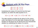 analysis with jk flip flops1