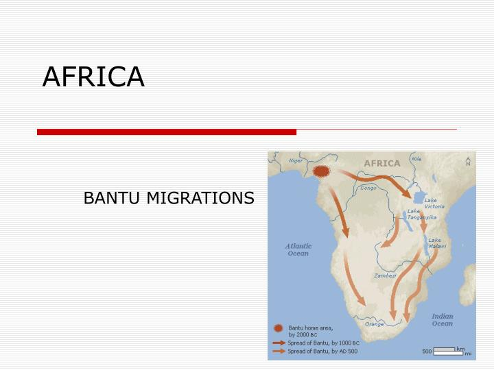 the cause of bantus migration The bantu migration is the movement of the bantu people, originally from congo, into other countries of eastern and southern africa such as tanzania and kenya.