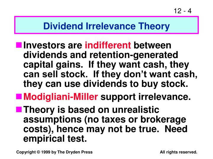 dividend signaling Dividend policy from the signaling perspective and its effects on information asymmetry among management and investors by virtue of some view the cash profits.