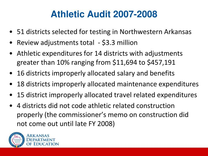 Athletic Audit