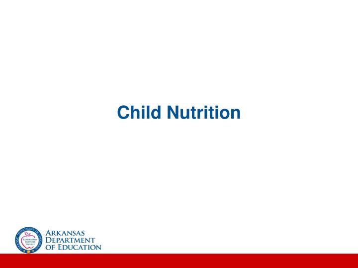 Child Nutrition