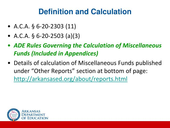 Definition and Calculation