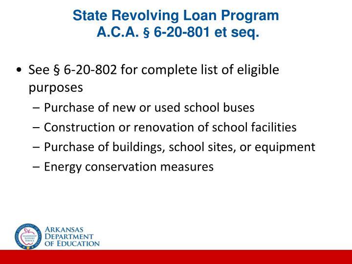 State Revolving