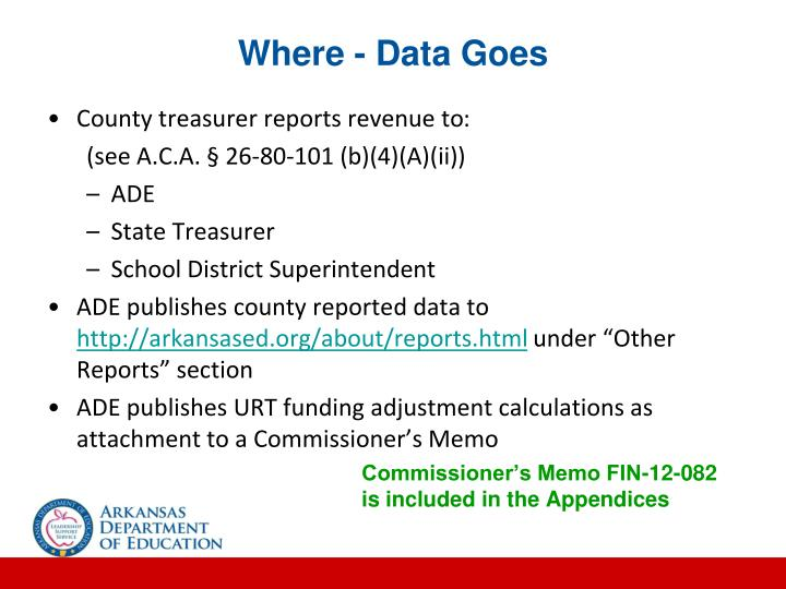 Where - Data Goes