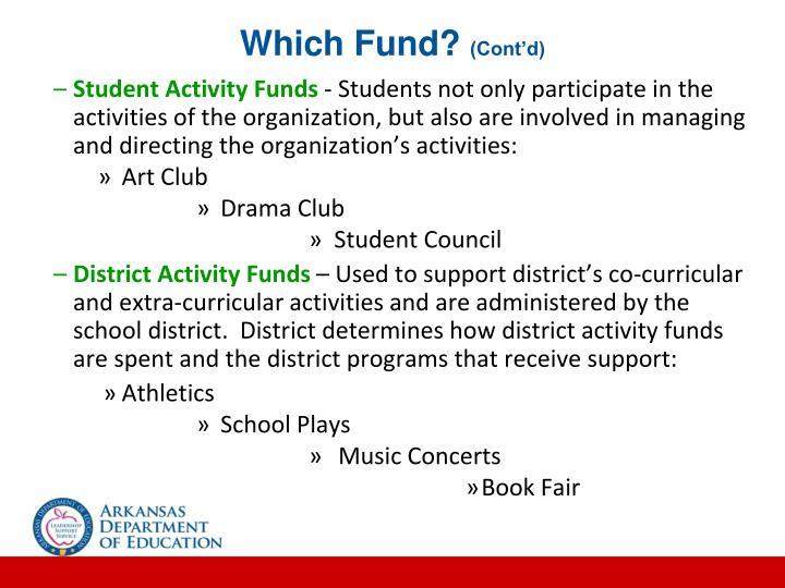 Which Fund?
