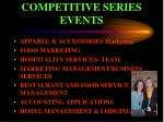 competitive series events