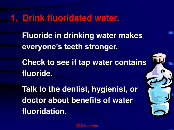 water fluoridation essay 1 drinking water fluoridation in canada: review and synthesis of published literature  prepared by: lindsay mclaren phd and lynn mcintyre md, mhsc, frcpc.