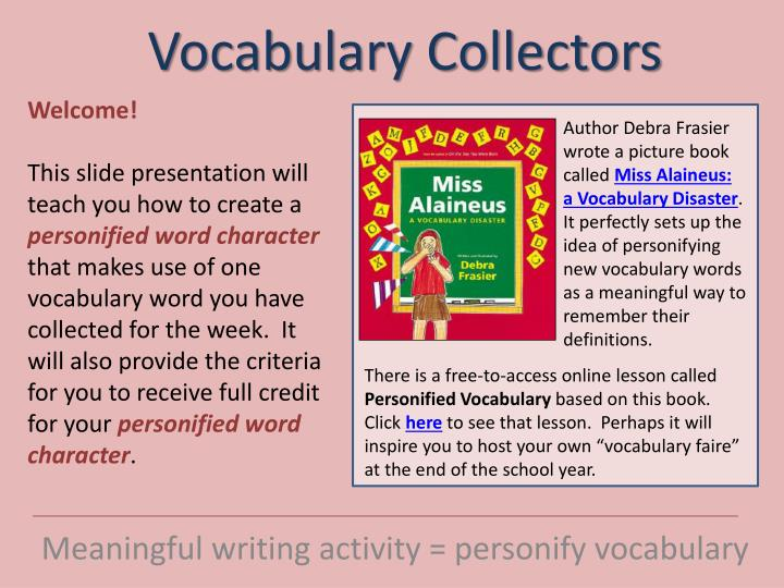 teaching english vocabulary through pictures for young learners essay Home page writing teaching english vocabulary through pictures for young learners 3 to identify the effectiveness of using pictures in improving students' vocabulary 15 significance of the research the result of this research hopefully gives positive contribution to improve vocabulary.