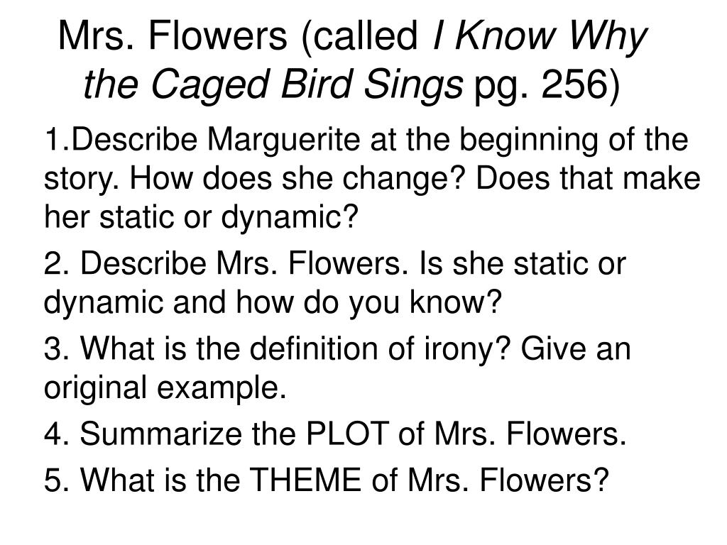 i know why the caged bird sings short story summary