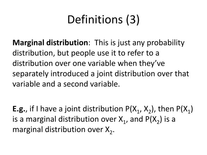 Definitions (3)