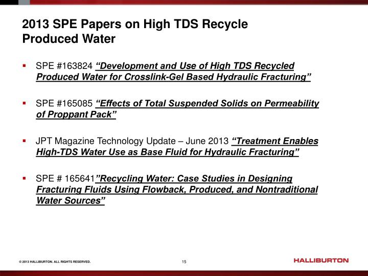 spe papers This paper was prepared for presentation at the 2000 spe international  spe  meetings are subject to publication review by editorial committees of the society .