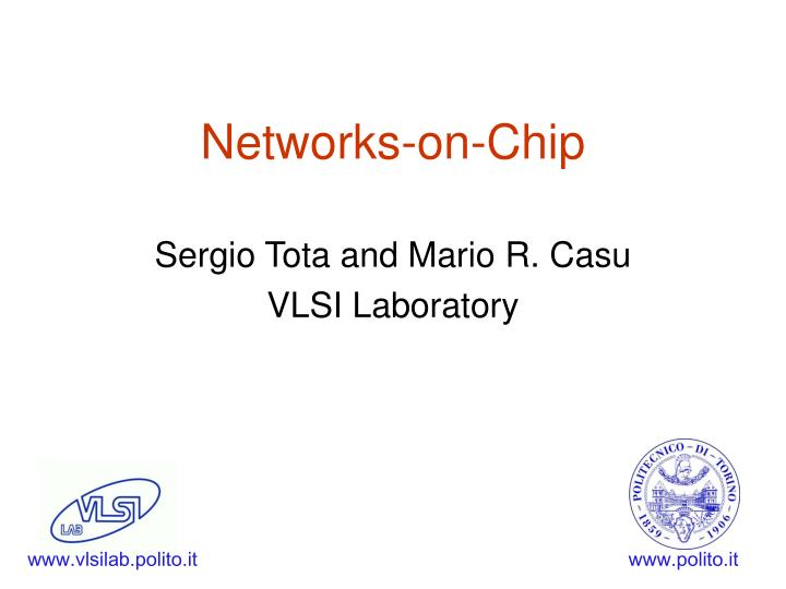 networks on chip n.