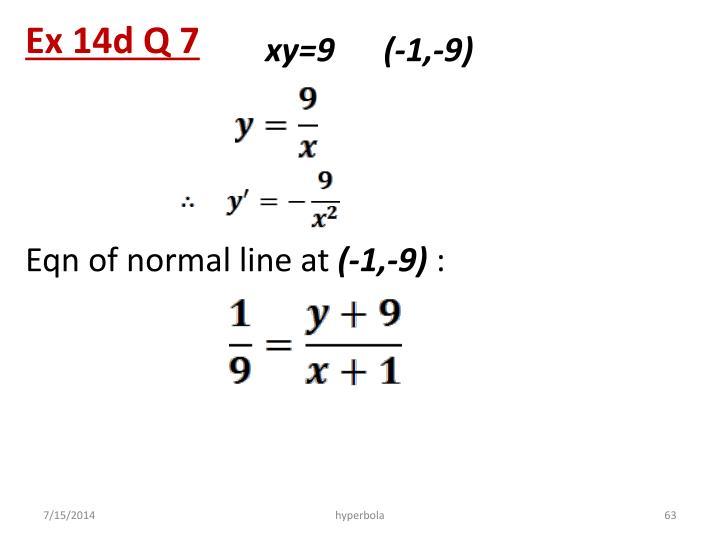 Ex 14d Q 7