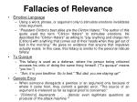 fallacies of relevance4