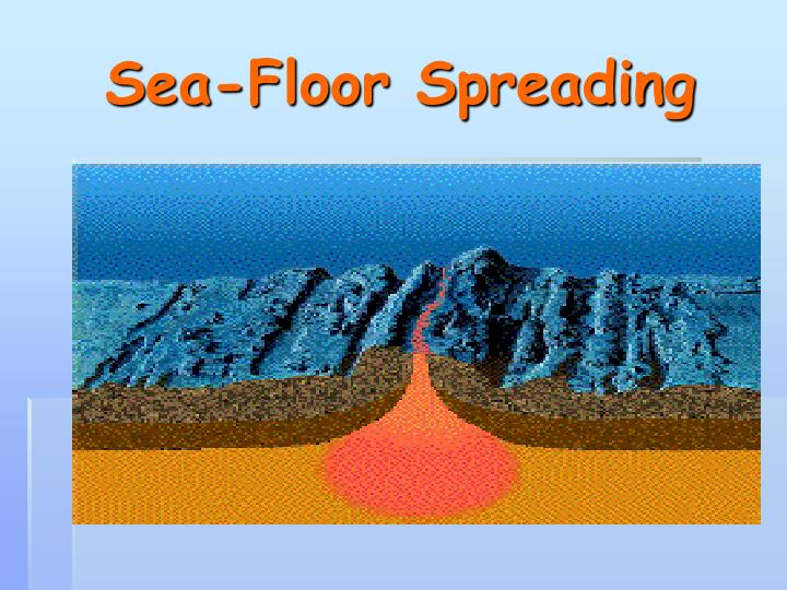 Ppt sea floor spreading powerpoint presentation id 1785053 for Ocean floor description