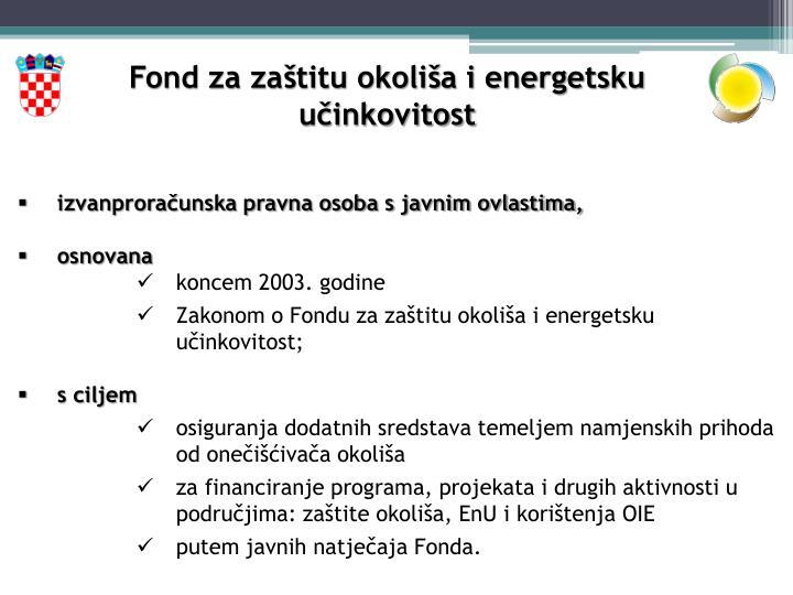 Fond za zaštitu okoliša i energetsku