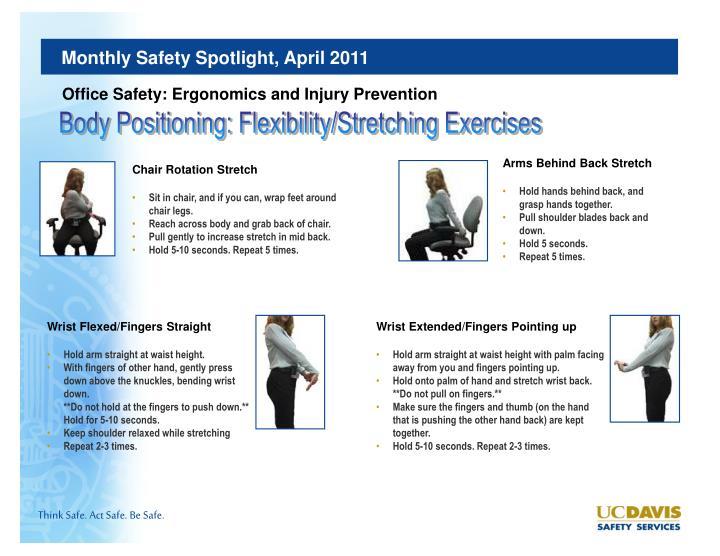 PPT - UC Davis Safety Services Monthly Safety Spotlight ...