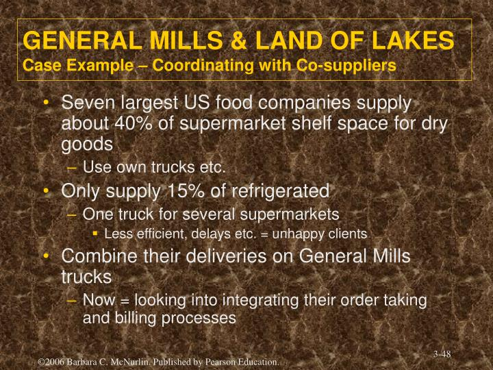 GENERAL MILLS & LAND OF LAKES