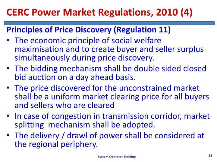 CERC Power Market Regulations, 2010 (4)