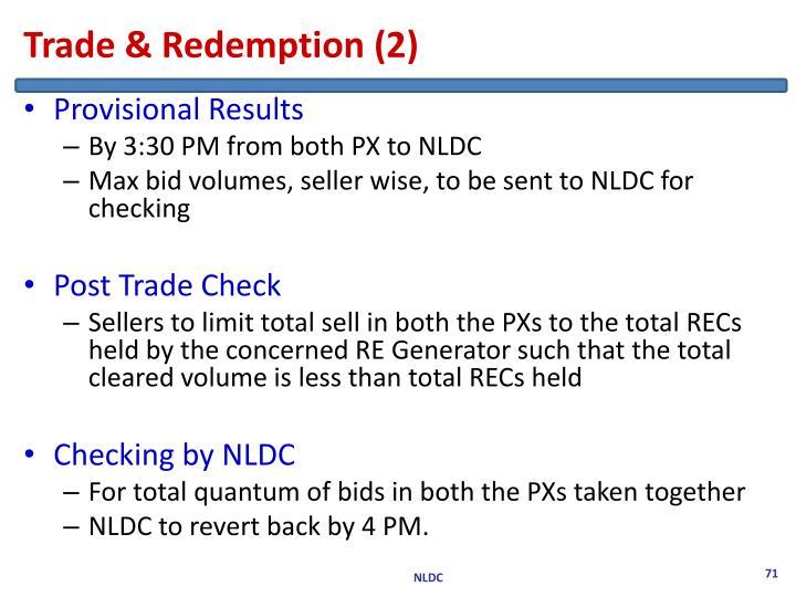 Trade & Redemption (2)