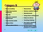 category b